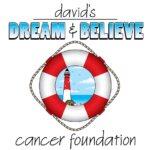 David's Dream and Believe Cancer Foundation White Logo